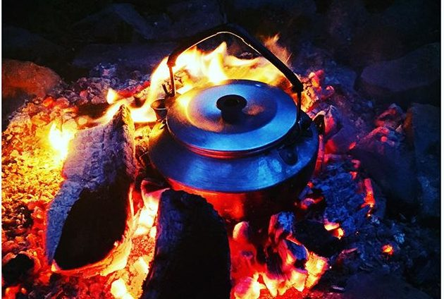 「キャンプ用ケトル 焚火」の画像検索結果